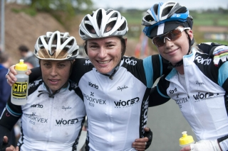 Sarah Storey (centre) Winner of the 2012 Cheshire Classic