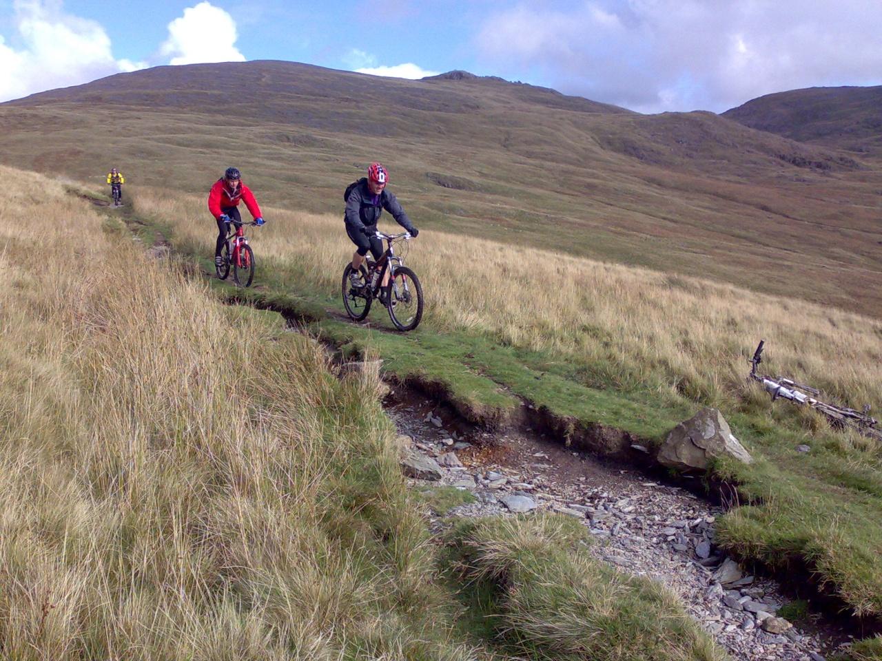 Dave and Jack descending