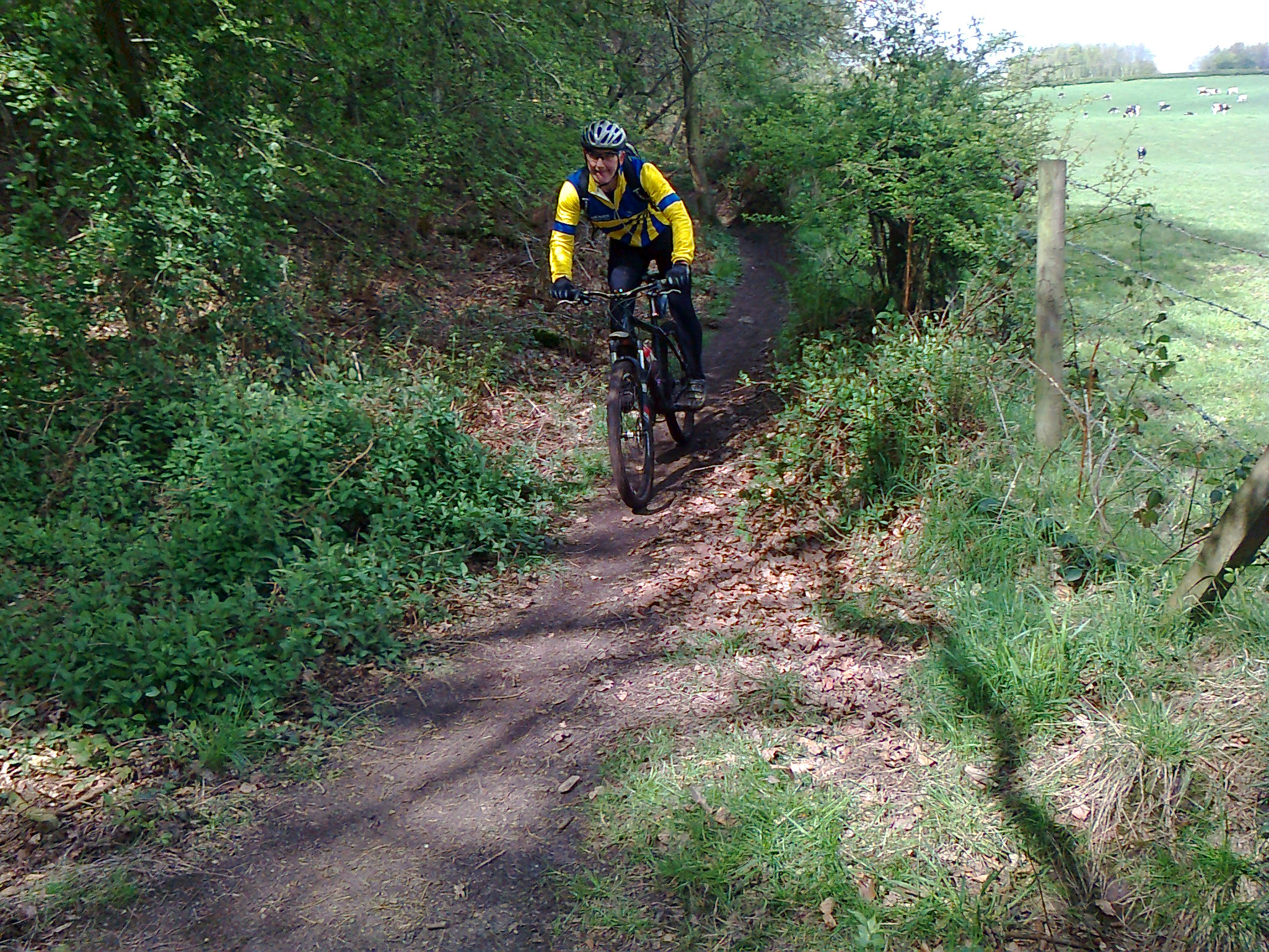 Delamere off road ride Sat 5 May