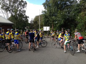 Guide Dogs for the Blind Charity Ride 5th August 2012