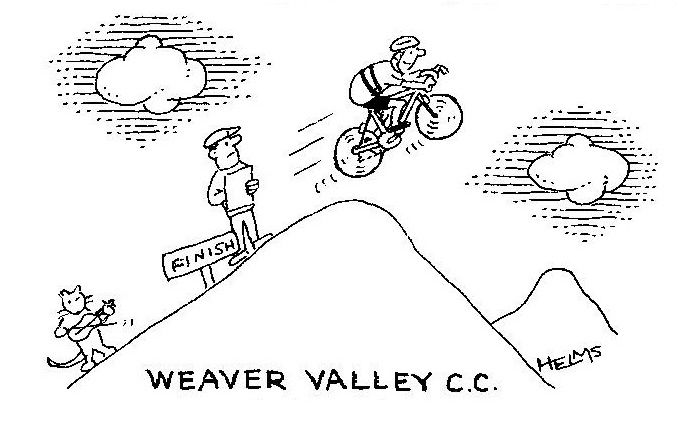 Weaver Valley CC J9/7 – 'Cat and Fiddle' Hill Climb 2012