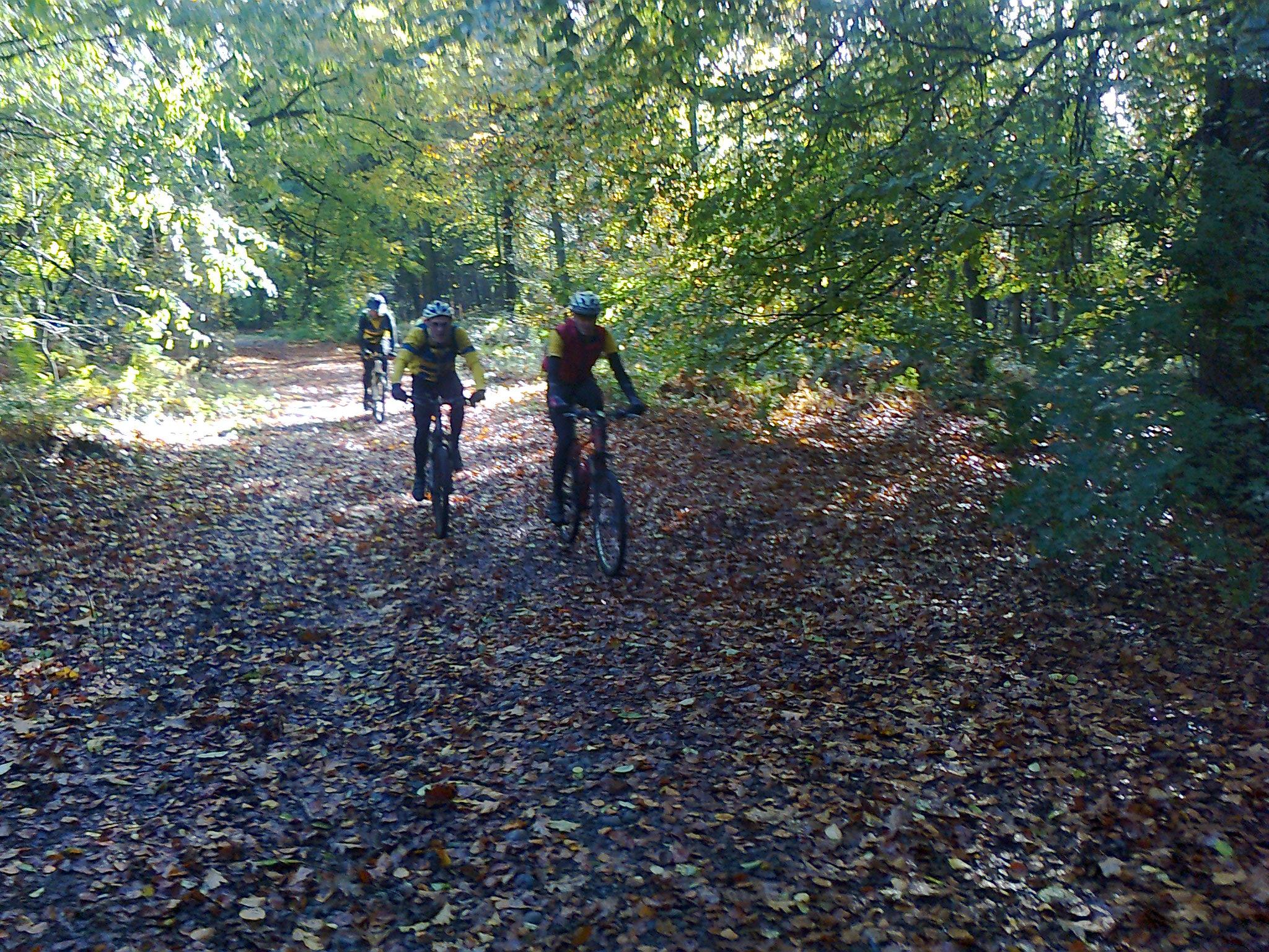 Off Road Ride Delamere 2 Nov
