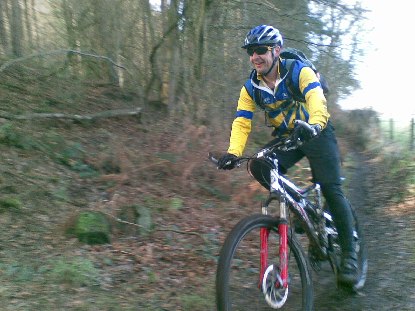Off road ride Delamere