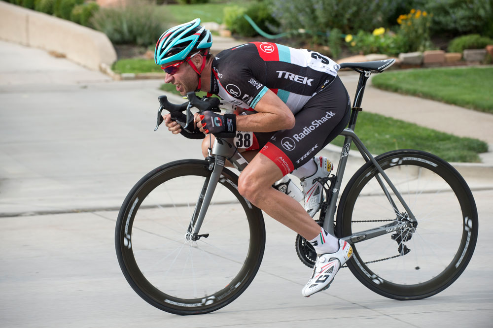 Unless your name is Jens Voigt, don't try this on a club ride!!