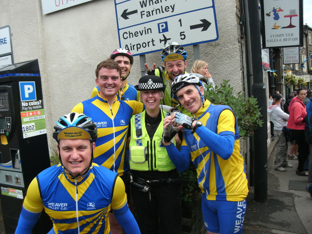 The local constabulary were very friendly...