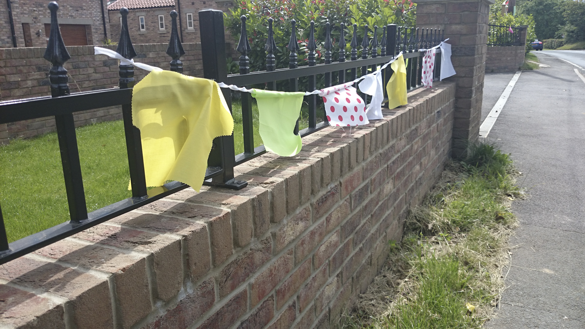 Fences decorated...