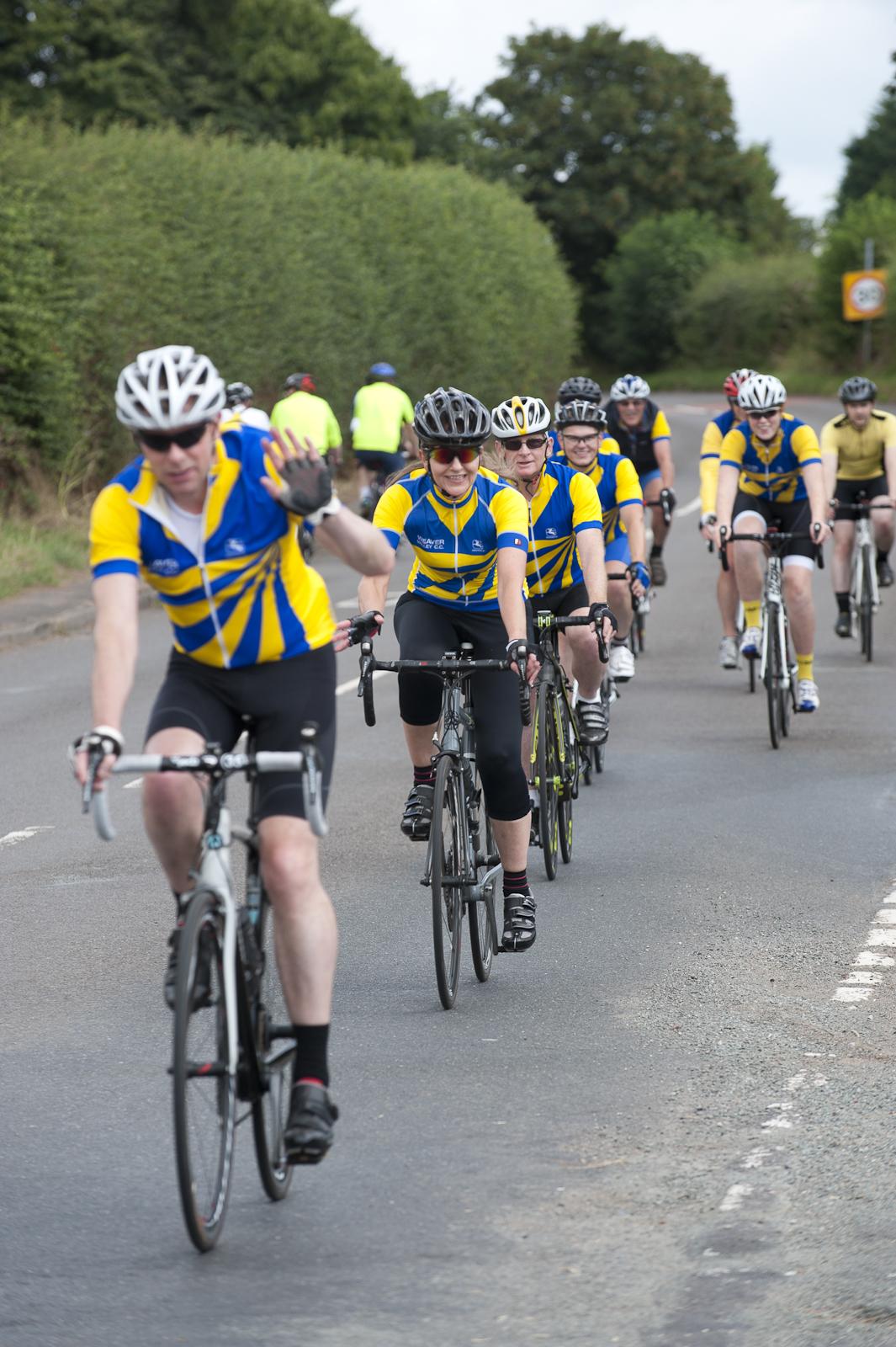 Bl**dy cyclists...!