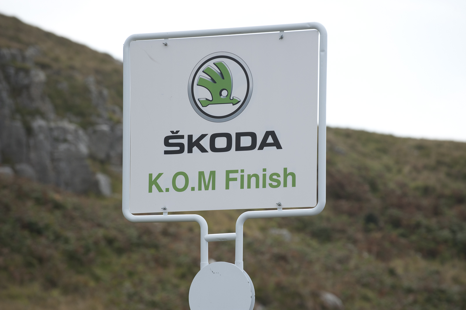 It's the KoM. It is.