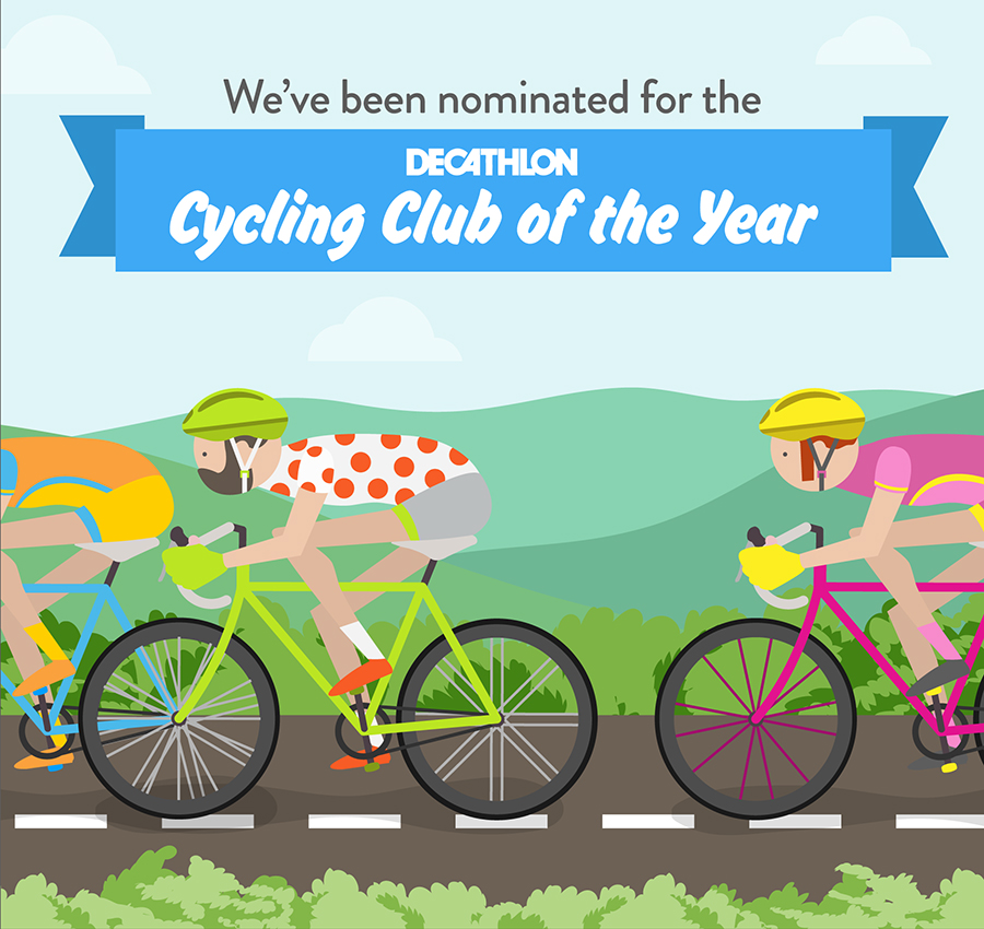 WVCC in the running for Decathlon Cycling Club of the Year!