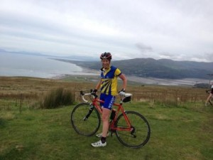 The view over Barmouth - worth the long, steep climb out of Twywn