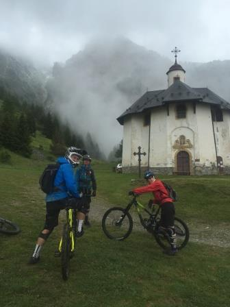 Alpine mountain biking – yikes!