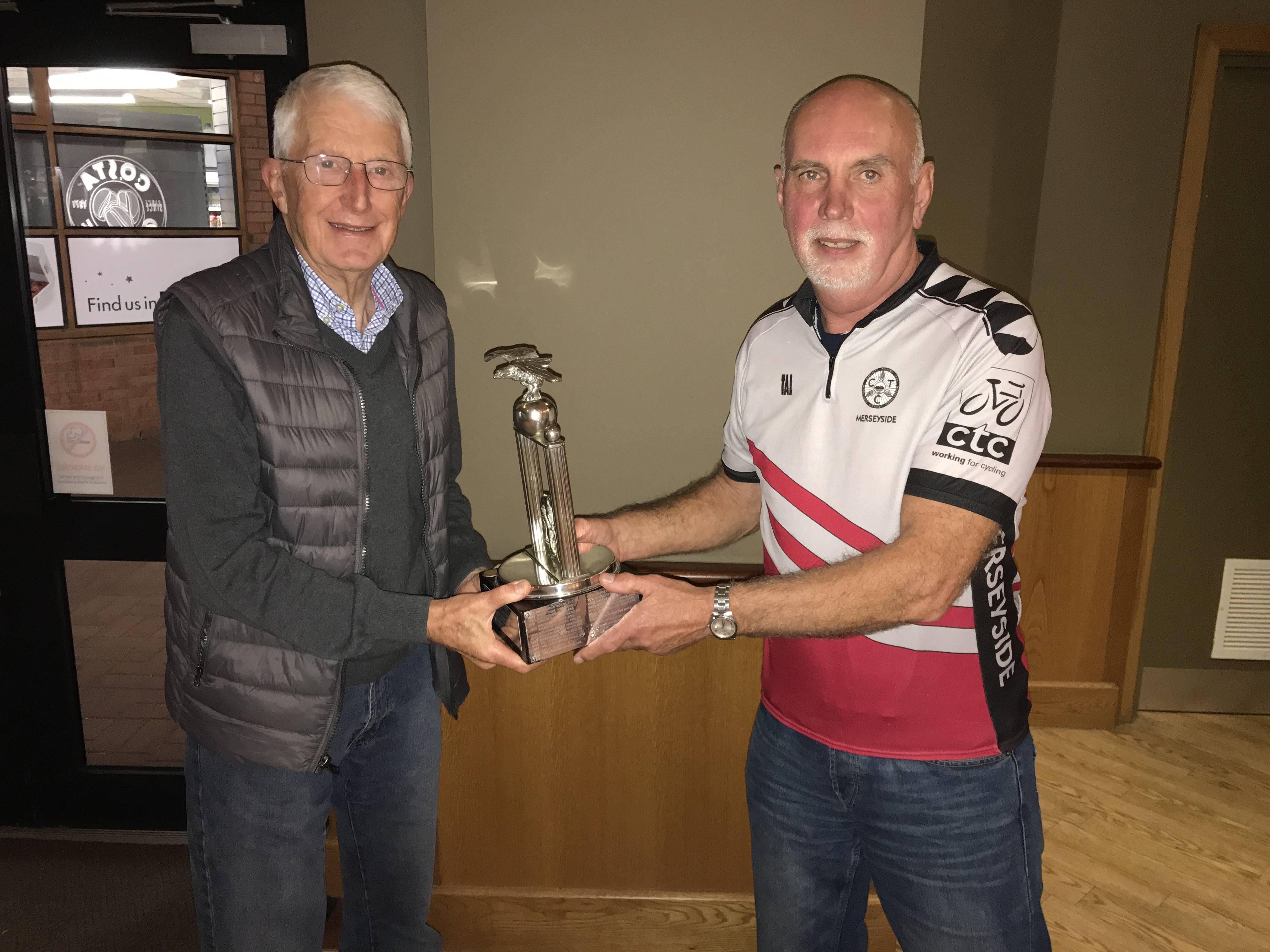 Wild Wales Challenge – Trophy Award